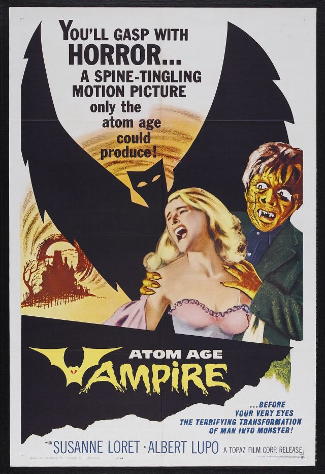 Atom Age Vampire-the Poster