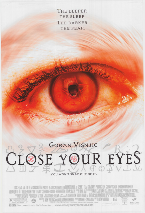 Close Your Eyes, Poster
