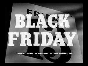 Black Friday-Title Card