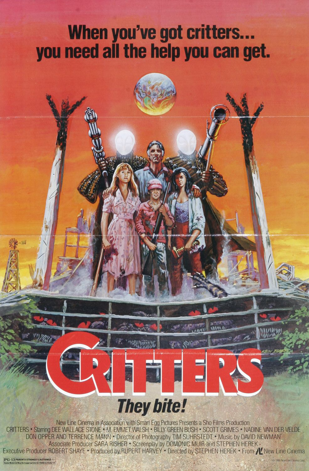 Critters 171 The League Of Dead Films
