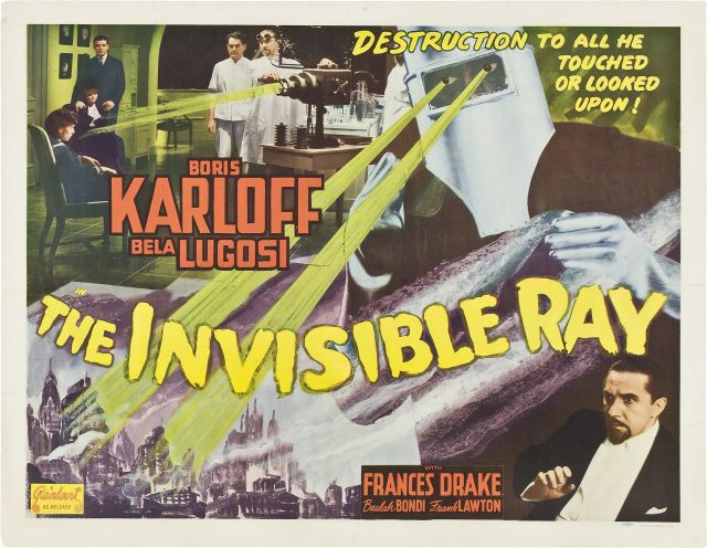 The Invisible Ray-Lobby Card