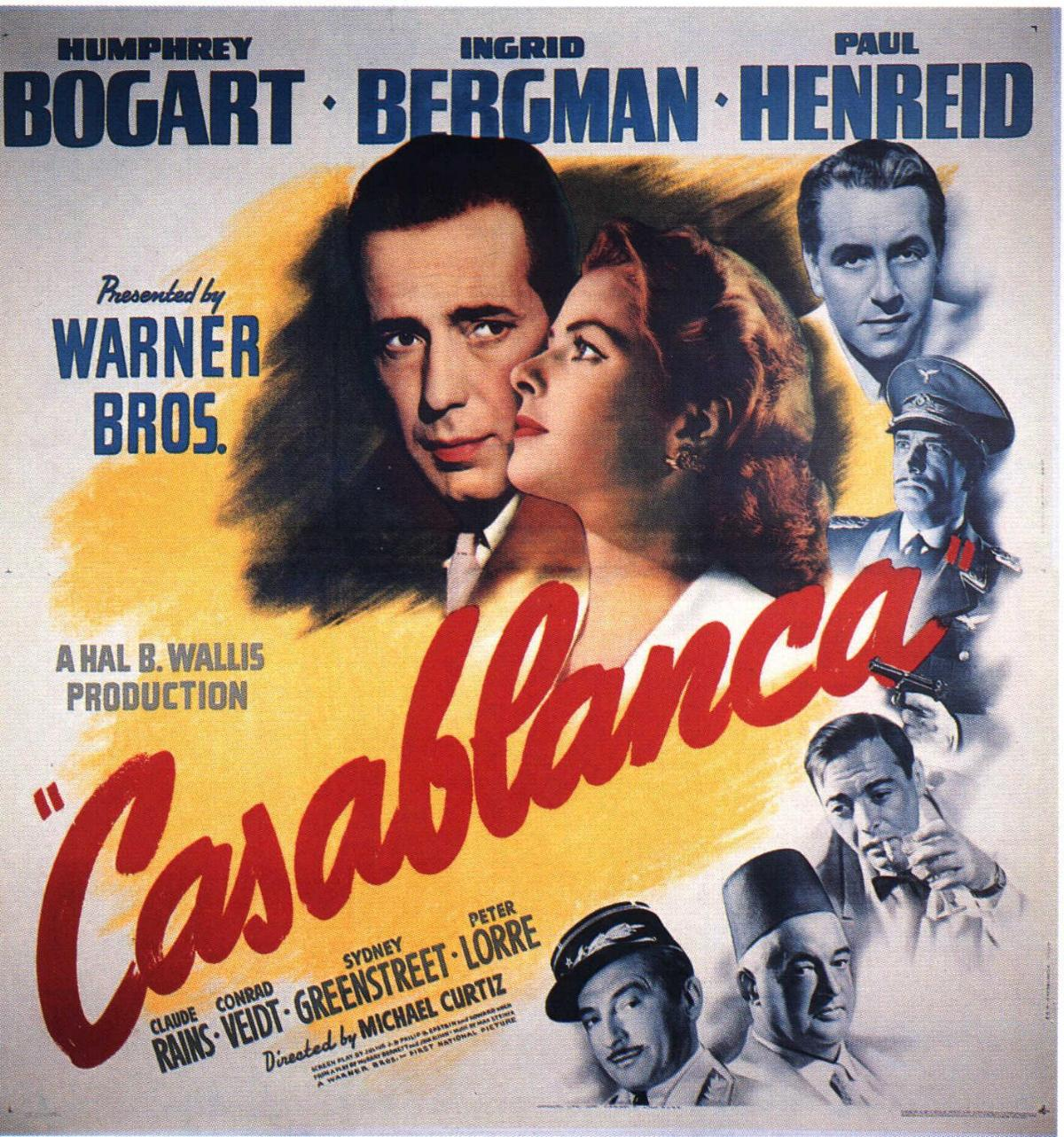 Super January 27th, 2011: Casablanca (1942) « The League of Dead Films UV45