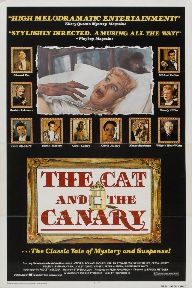 Poster-The Cat and the Canary