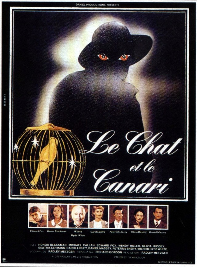 Poster-The Cat and the Canary, 1978