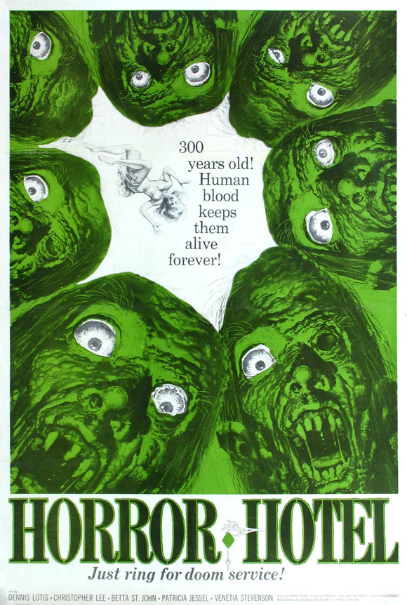 Poster for Horror Hotel aka City of the Dead