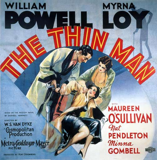 The Thin Man-Poster