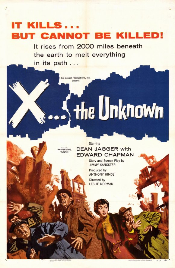 X:  The Unknown:  Poster
