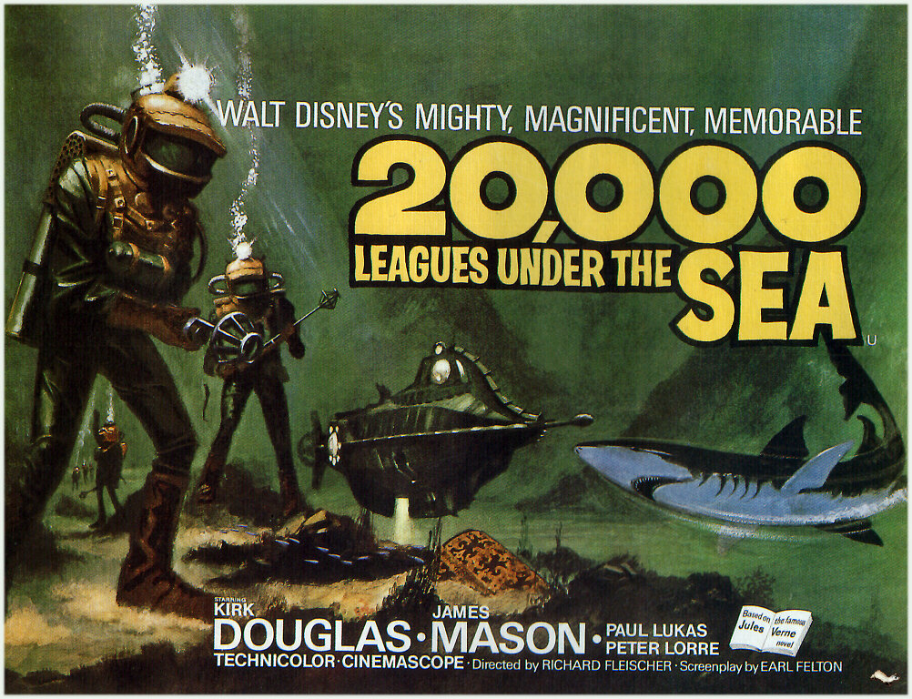 What It's About: It is the 1860s and what is reported to be a sea monster is