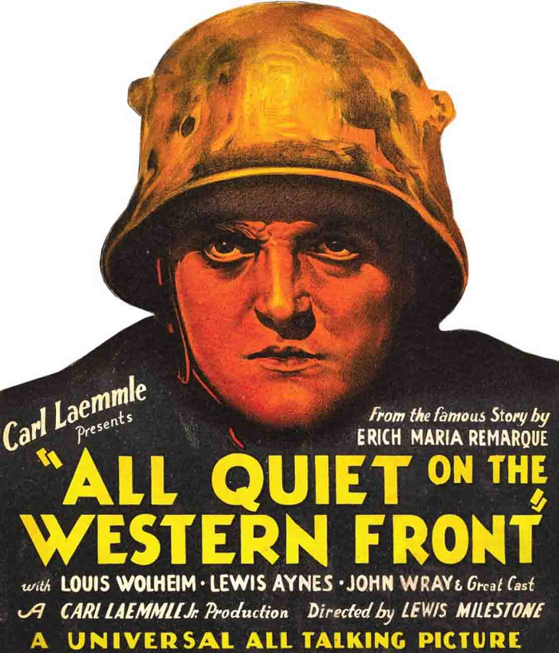 an analysis of alls quiet on the western front an anti war film by lewis milestone In transit - sending long time coming / sandra brown brokeback mountain / annie proulx 3mjav cd 955 kidz bop 8 [sound recording] / kidz bop kids.