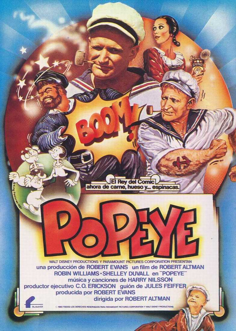 January 17th, 2012: Popeye (1980) « The League of Dead Films