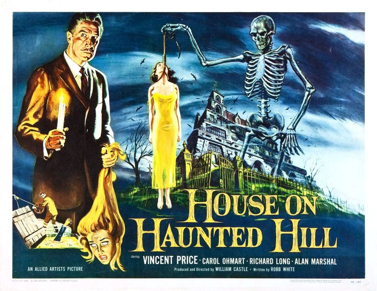 Image result for House on Haunted Hill 1959