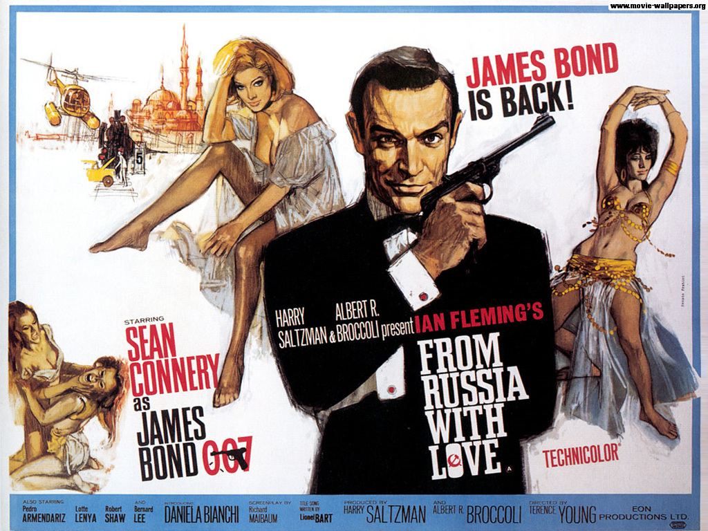September 7th, 2012: From Russia with Love (1963) « The League of ...