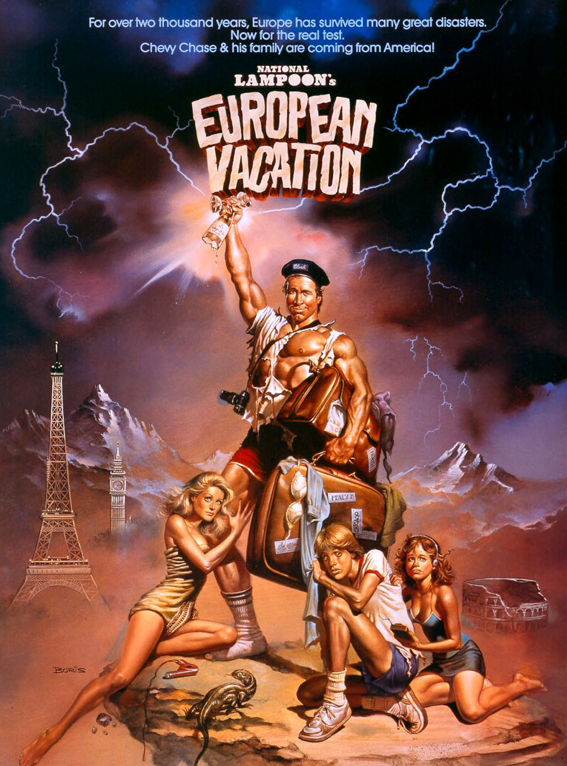 September 27th 2012 National Lampoons European Vacation