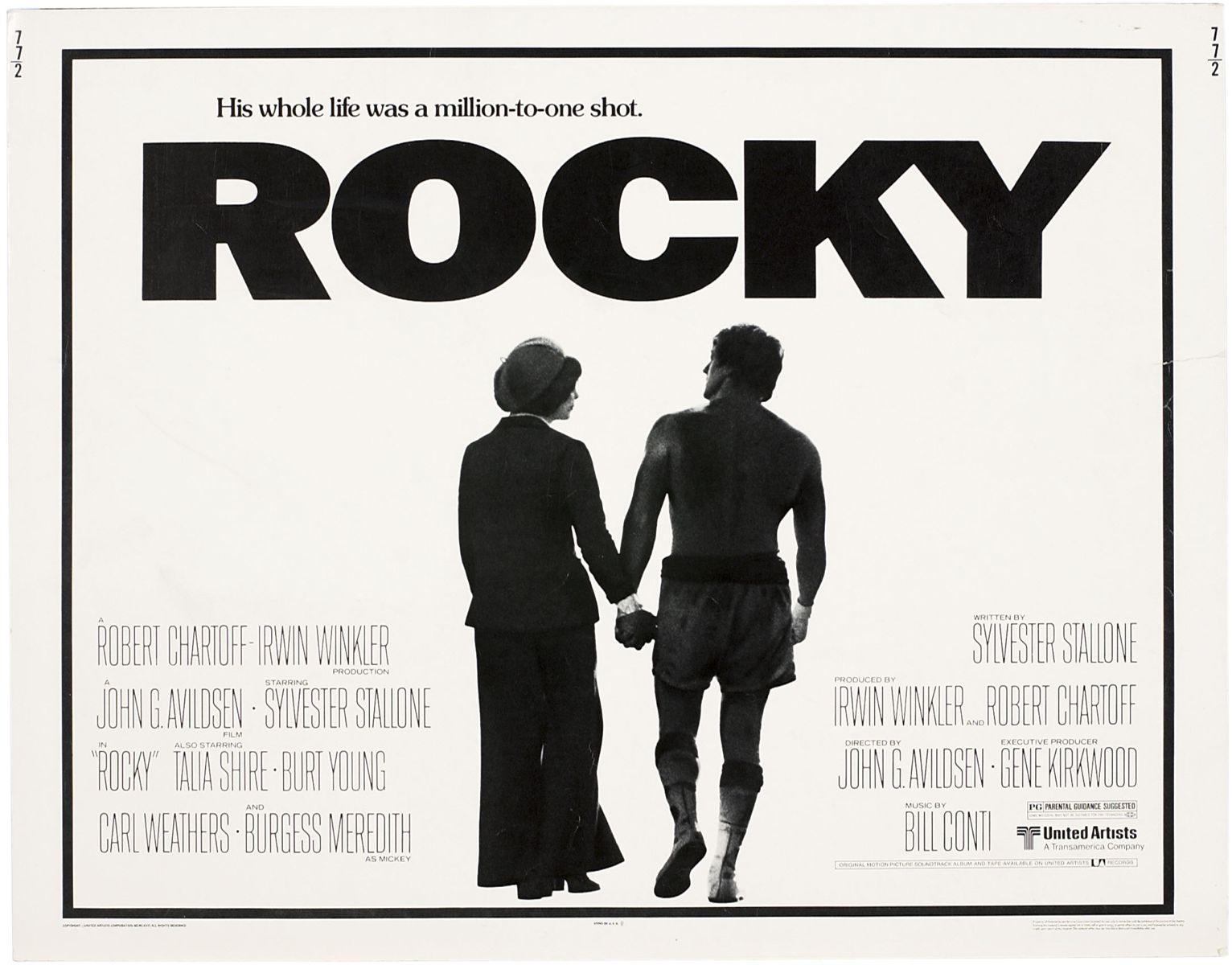 September 9th, 2014: Rocky (1976) « The League of Dead Films