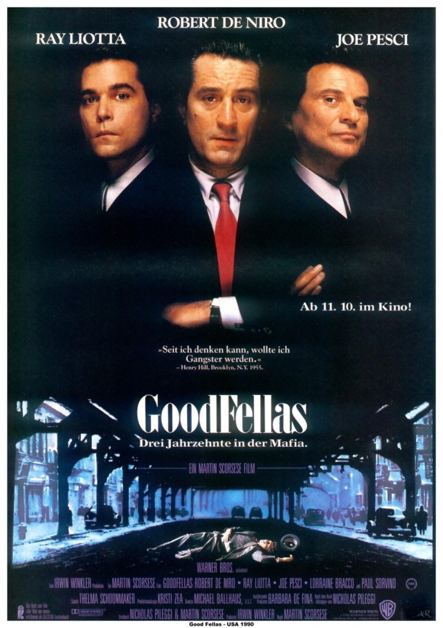 the world of organized crime in martin scorseses film goodfellas It is immaculately made with the stamp of martin scorsese all over it now, if  of  the mafia/gangster world with the same finesse as 'gomorrah.