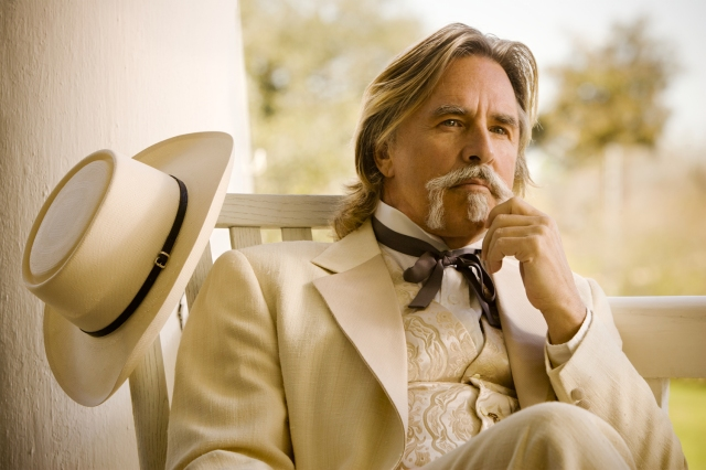 Don Johnson:  I play racists now.