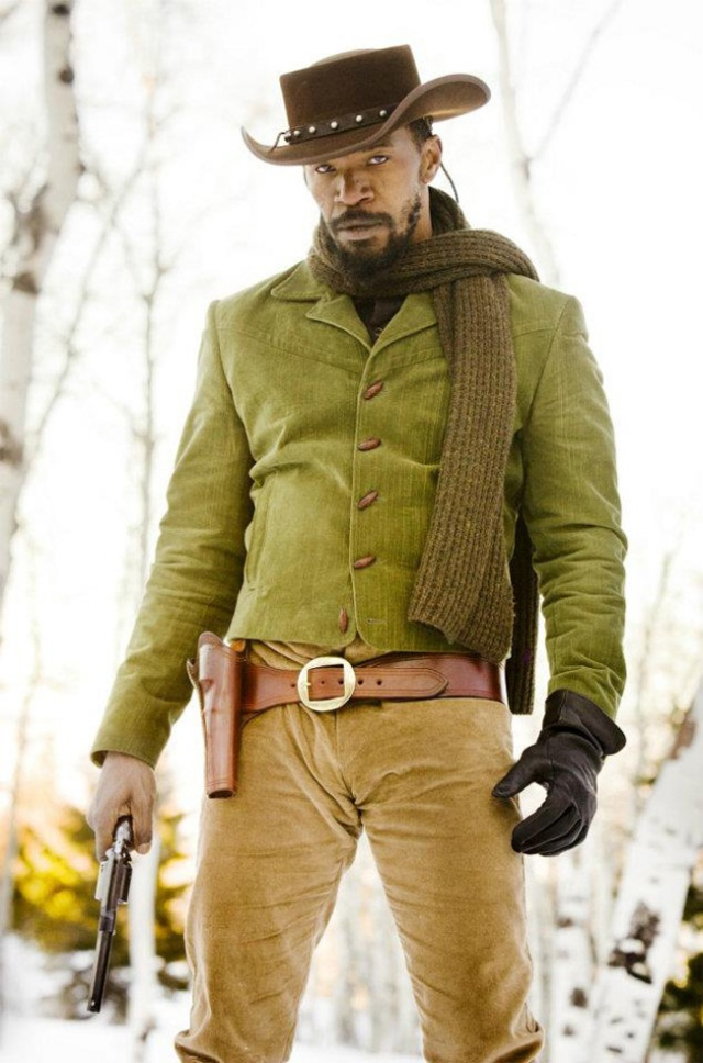 Jim Brown's outfit.  Fred Williamson's hat and gloves.
