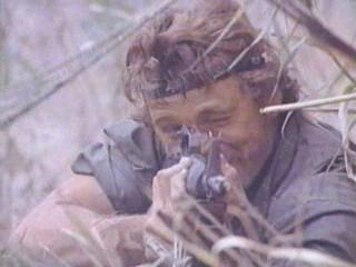 Judging by this film, 'Nam was kind of like playing airsoft.