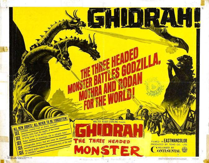Image result for ghidorah the three-headed monster