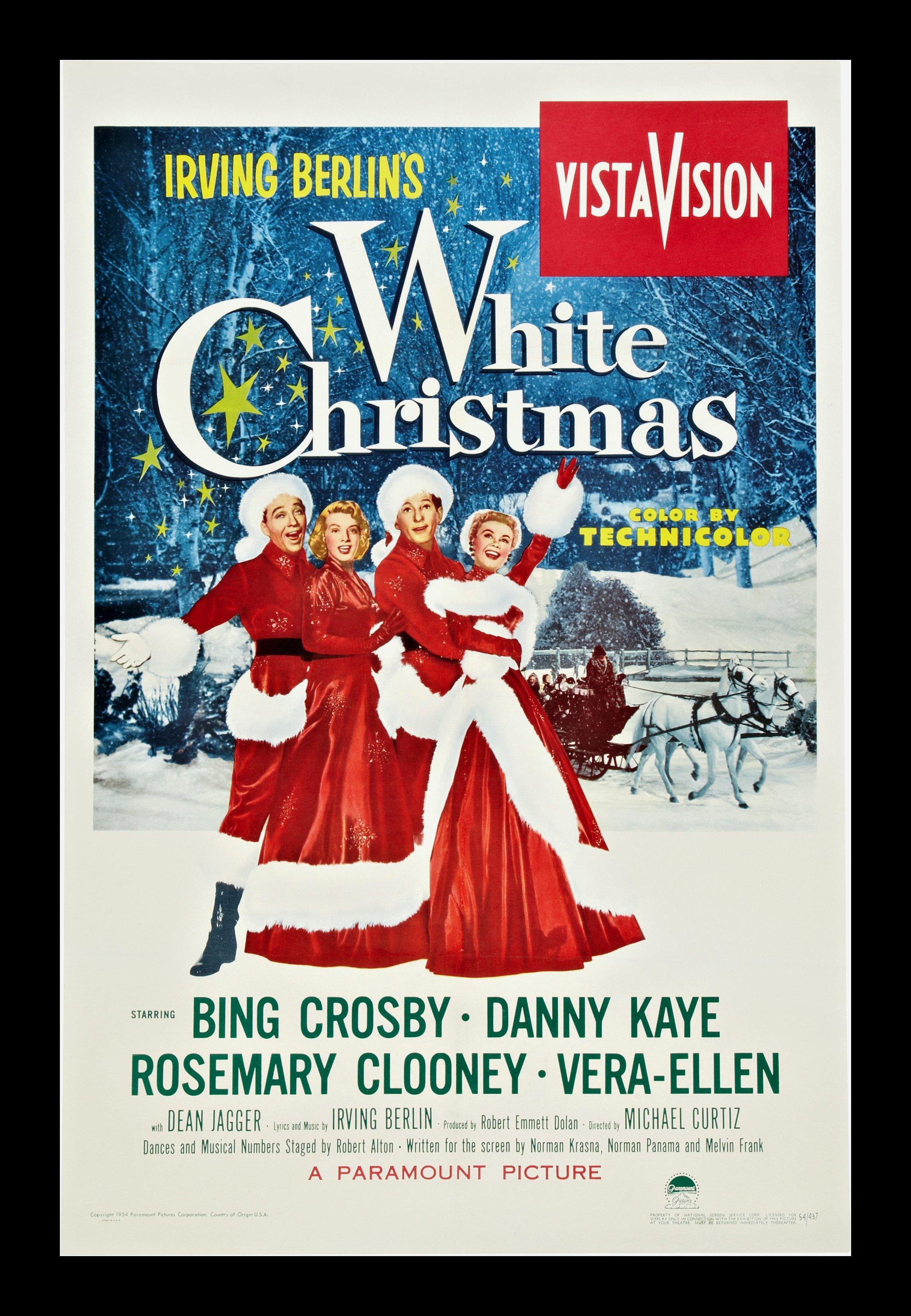 White Christmas 1954.December 24 2013 White Christmas 1954 The League Of