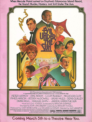 Image result for 1982 evil under the sun