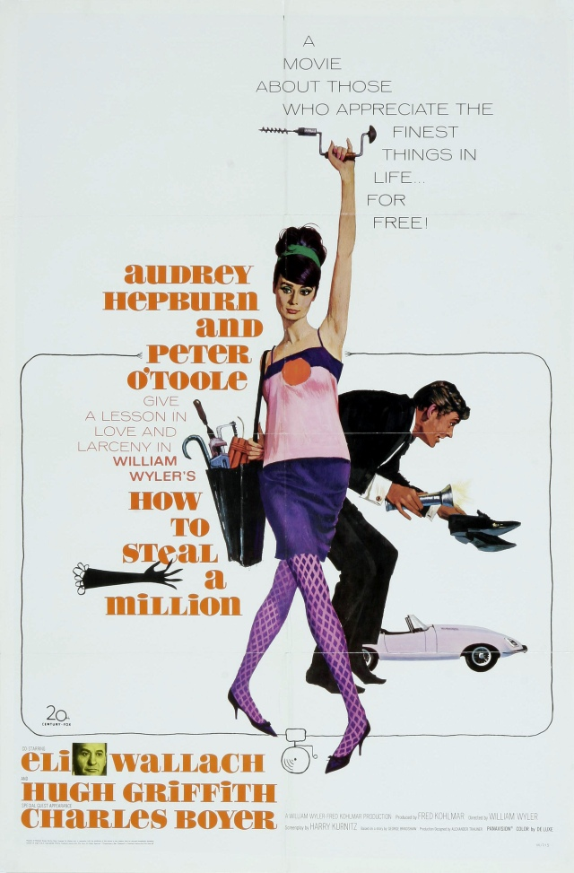 Poster - How to Steal a Million_01