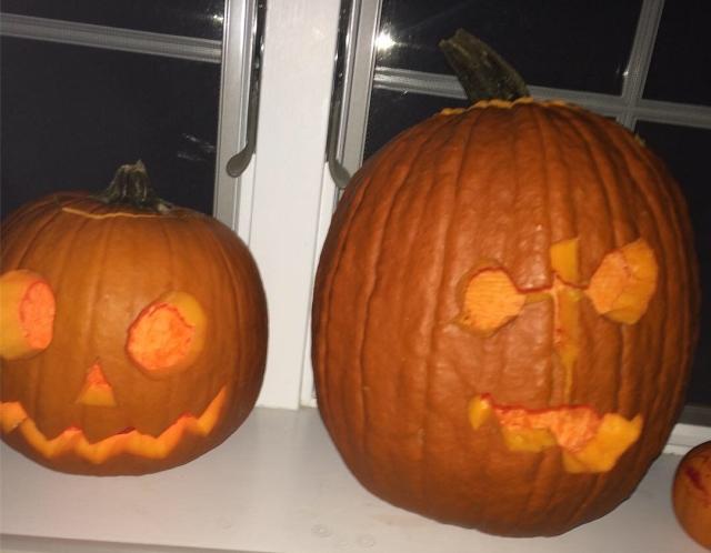 Jack Pumpkinseed and Friend
